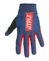 JETPILOT RX SUPER LITE GLOVE NAVY/RED