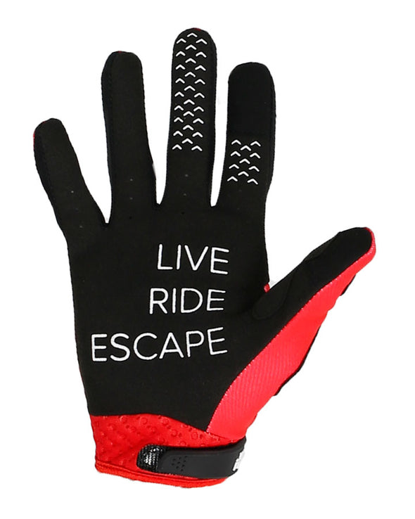 JETPILOT RX SUPER LITE GLOVE BLACK/RED
