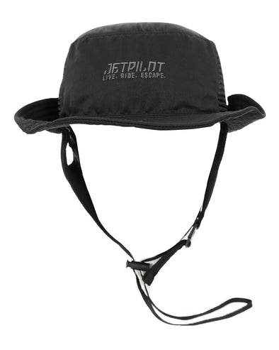 JETPILOT FLOATING WATERSPORTS HAT BLACK