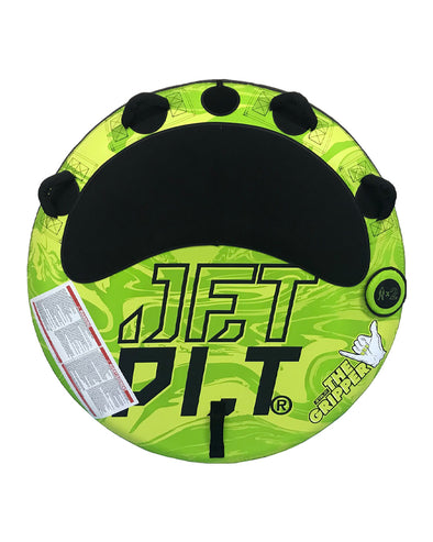 JETPILOT GRIPPER 2 PERSON TOWABLE GREEN/YELLOW