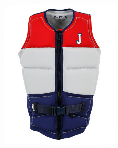 JETPILOT C4 SINCE 86 F/E MENS NEO VEST RED
