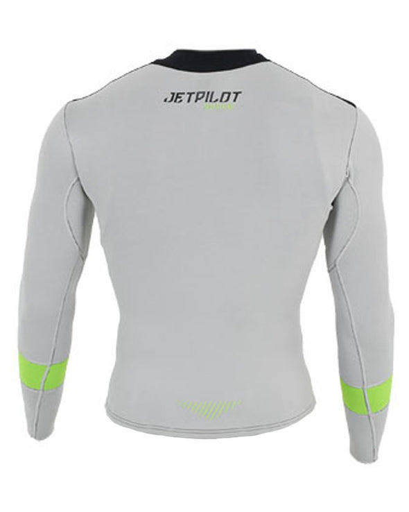 JETPILOT MENS RX RACE JACKET GREY/BLACK