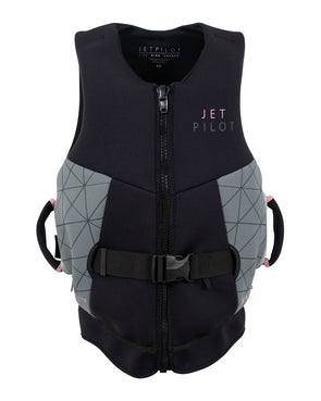 JETPILOT CAUSE F/E LADIES NEO VEST BLACK