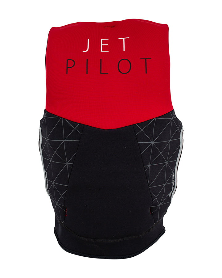JETPILOT CAUSE F/E LADIES NEO VEST RED L50/BLACK