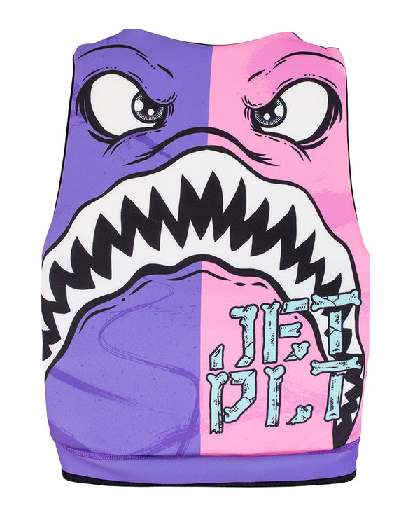 JETPILOT THE CAUSE F/E YOUTH NEO VEST PINK/PURPLE