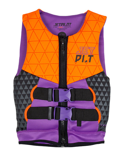 JETPILOT THE CAUSE F/E YOUTH NEO VEST ORANGE L50