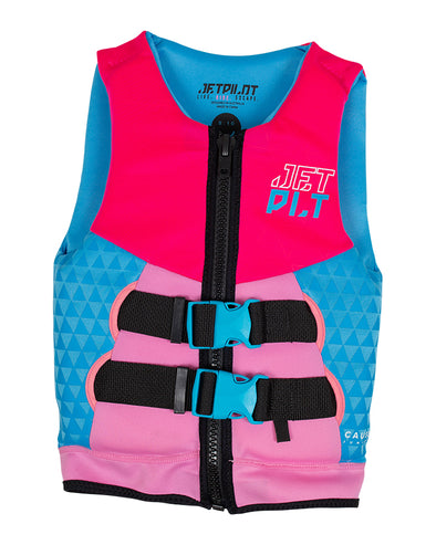 JETPILOT THE CAUSE F/E YOUTH NEO VEST PINK