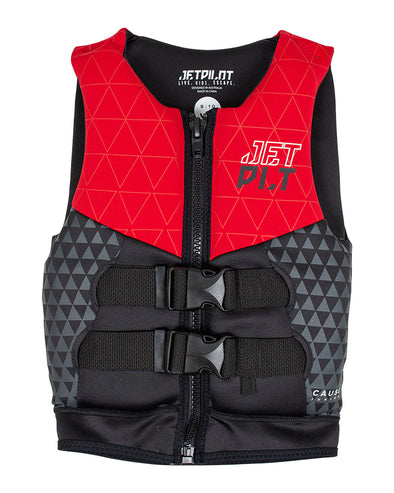 JETPILOT THE CAUSE F/E YOUTH NEO VEST RED L50
