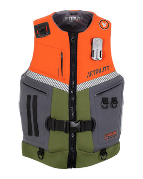 JETPILOT VENTURE MENS NEO VEST ORANGE L50