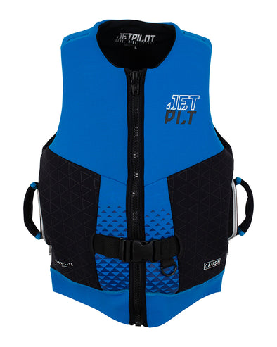 JETPILOT CAUSE F/E MENS NEO VEST BLUE/BLACK