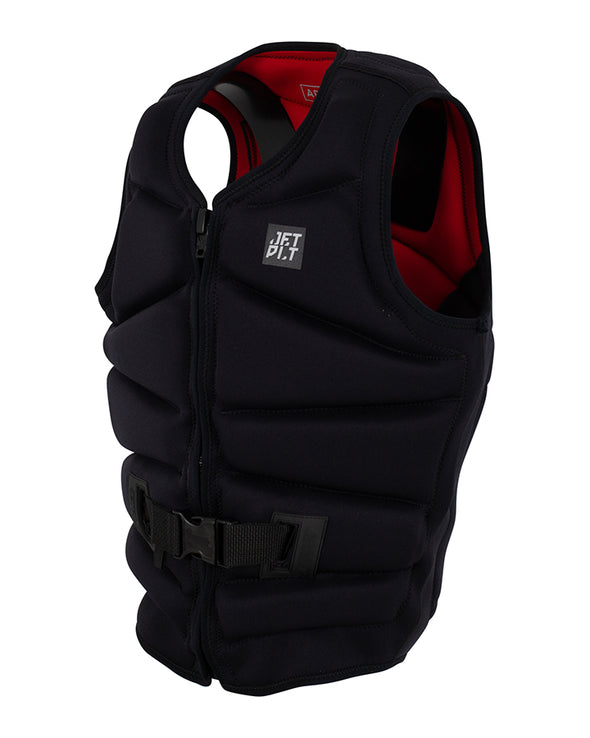 JETPILOT ADDICT REV F/E MENS NEO VEST BLACK/RED LEVEL 50