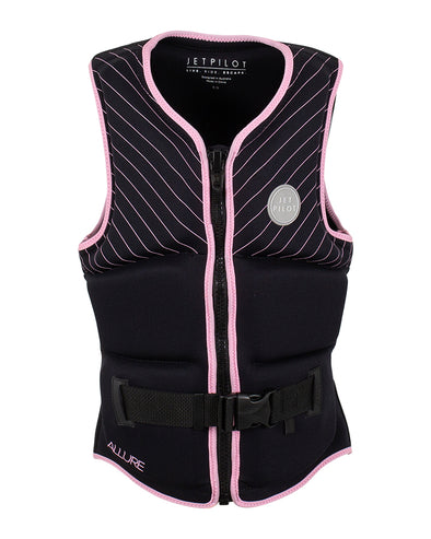 JETPILOT ALLURE F/E LADIES NEO VEST BLACK