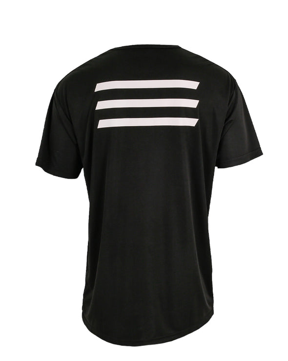JETPILOT MENS HYPED 2 S/S HYDRO TEE BLACK