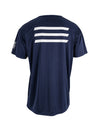 JETPILOT MENS HYPED 2 S/S HYDRO TEE NAVY