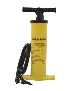 JETPILOT DOUBLE ACTION MANUAL HAND PUMP YELLOW