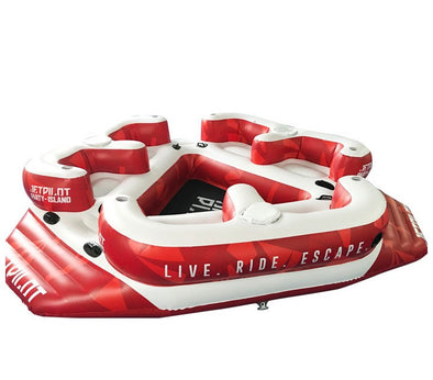 JETPILOT JP PARTY ISLAND RED/WHITE