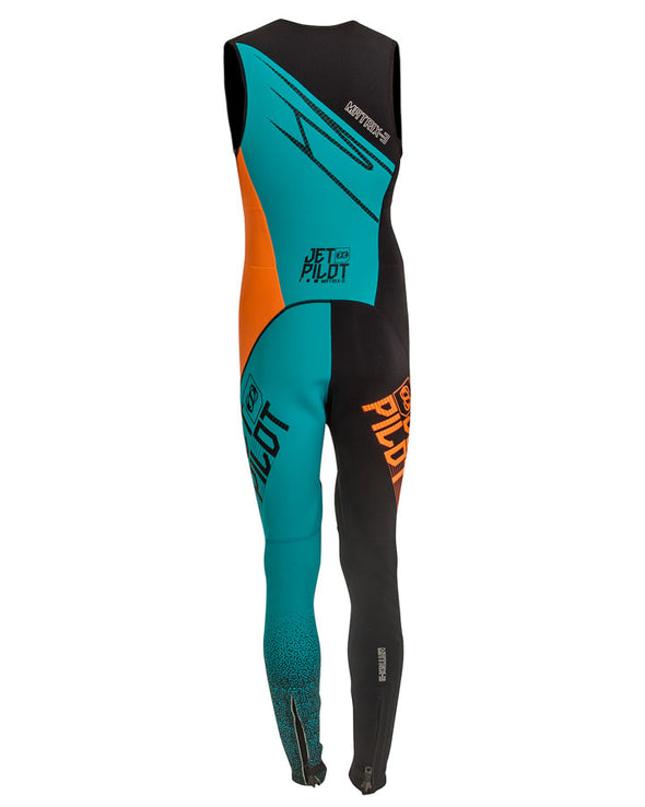 JETPILOT MATRIX 3 MENS RACE JOHN TEAL/ORANGE