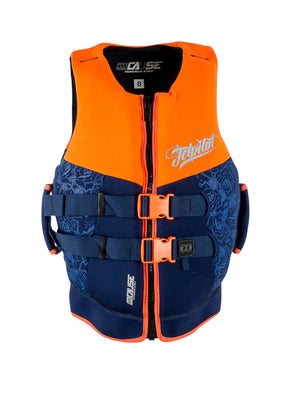 JETPILOT LADIES THE CAUSE LADIES NEO VEST ORANGE LEVEL 50