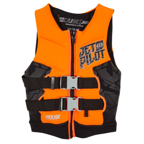 JETPILOT THE CAUSE F/E YOUTH NEO VEST ORANGE LEVEL 50
