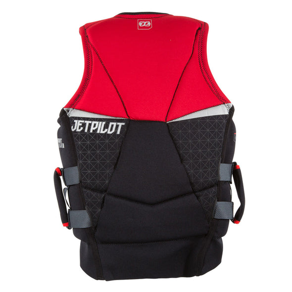 JETPILOT MENS NIGHTHAWK 2 PWC SEG NEO VEST RED LEVEL 50