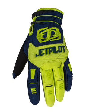 JETPILOT MATRIX RACE GLOVE BLUE/LIME