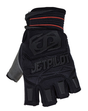 JETPILOT MATRIX SHORT FINGER RACE GLOVE BLACK/RED