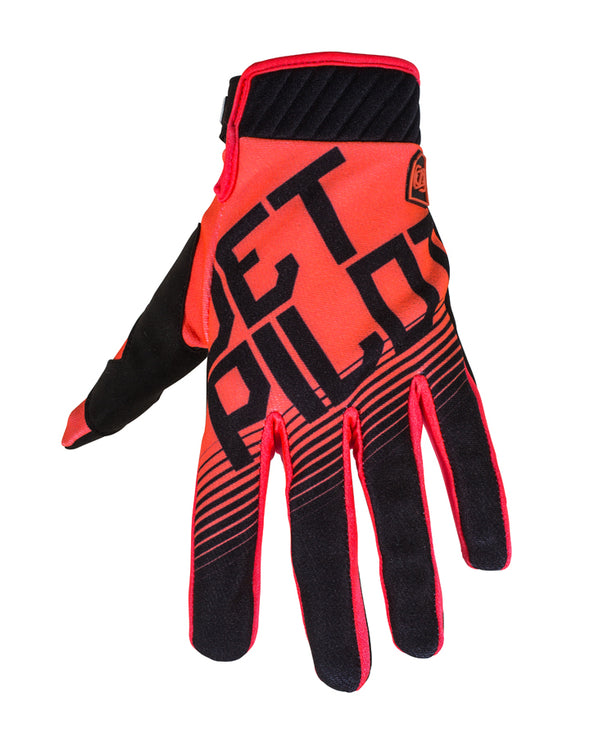 JETPILOT PHANTOM SUPER LITE GLOVE BLACK/ORANGE