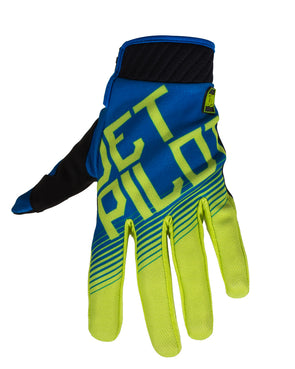 JETPILOT PHANTOM SUPER LITE GLOVE BLUE/LIME