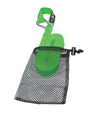 JETPILOT TOW STRAP WITH MESH BAG LIME