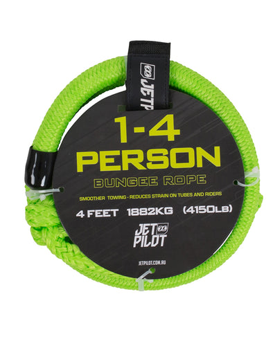 JETPILOT TOWABLE BUNGEE CORD 4 FT GREEN