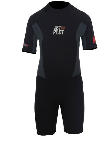 JETPILOT THE CAUSE 2MM YOUTH SPRINGSUIT BLACK