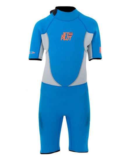 JETPILOT THE CAUSE 2MM YOUTH SPRINGSUIT BLUE/GREY
