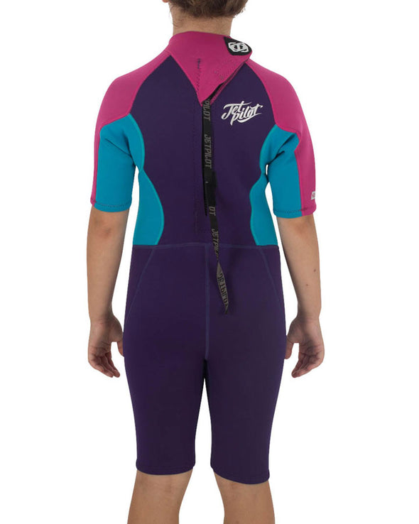 JETPILOT THE CAUSE 2MM YOUTH SPRINGSUIT PURPLE