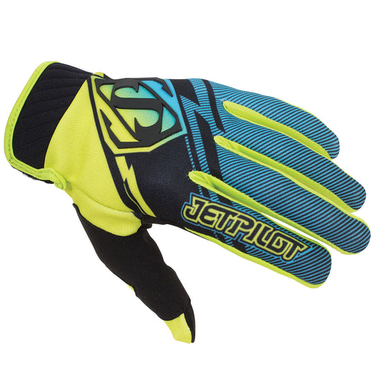 JETPILOT PHANTOM SUPER LITE GLOVE GREEN/BLUE