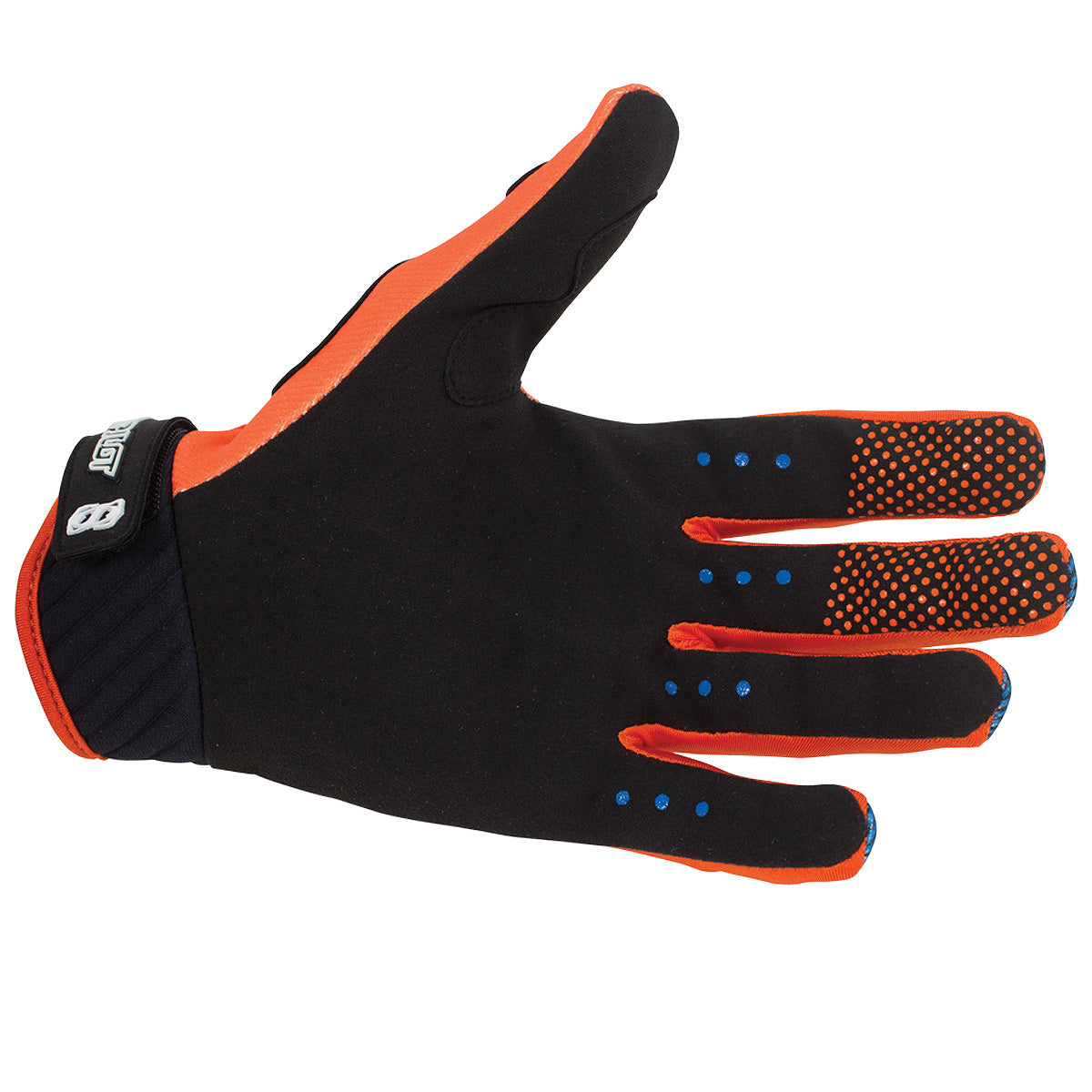 JETPILOT PHANTOM SUPER LITE GLOVE NAVY/ORANGE