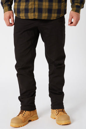 JETPILOT 5 DAY CHINO MENS PANT BLACK