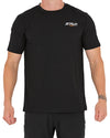 JETPILOT BRIGHT SPARK MENS TEE BLACK