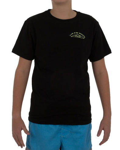 JETPILOT OUTDOOR ESCAPE YOUTH TEE BLACK