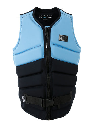 JETPILOT PACER LADIES F/E NEO VEST BLACK/BLUE