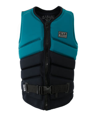 JETPILOT PACER LADIES F/E NEO VEST EMERALD/BLACK