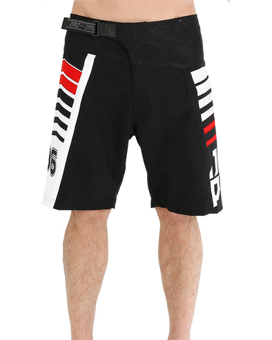 JETPILOT ORBIT MENS BOARDSHORT BLACK/RED