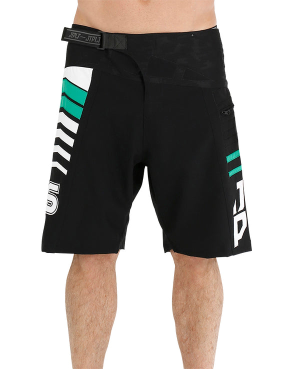 JETPILOT ORBIT MENS BOARDSHORT BLACK/GREEN
