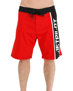JETPILOT HYPER MENS BOARDSHORT RED