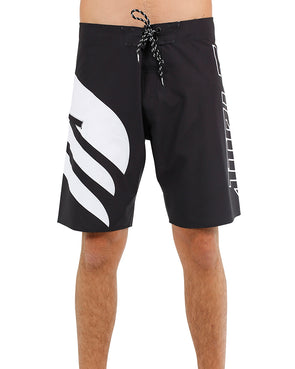 JETPILOT SIDE SWIPE MENS BOARDSHORT BLACK/WHITE