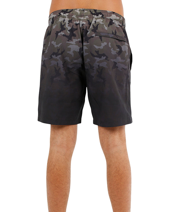 JETPILOT HIDDEN MENS BOARKSHORT CAMO/ARMY