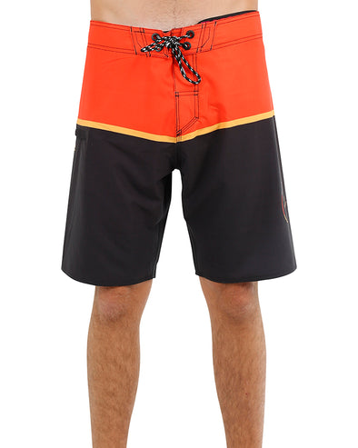 JETPILOT C4 YOUTH BOARDSHORT ORANGE/BLACK