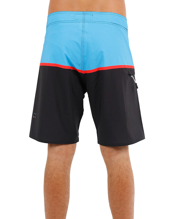 JETPILOT C4 MENS BOARDSHORT BLUE/BLACK