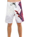 JETPILOT NAKED FLAME MENS BOARDSHORT RED