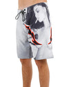 JETPILOT NAKED FLAME MENS BOARDSHORT GREY