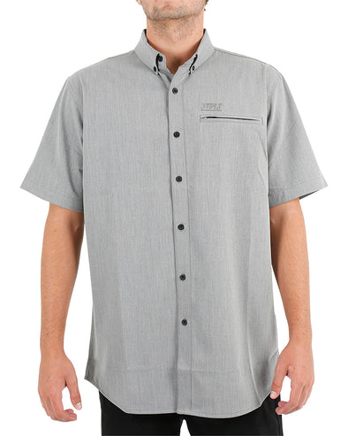 JETPILOT CUT THROAT MENS SHIRT CHAMBRAY